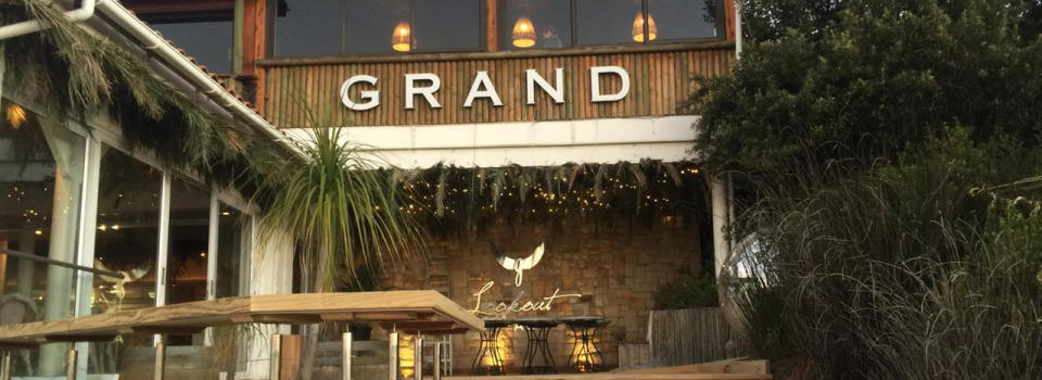 Grand Cafe, Look out beach, Plettenberg Bay