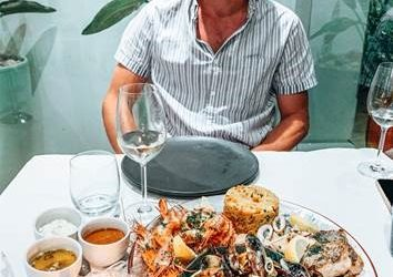 Seafood Dinner at The Plettenberg